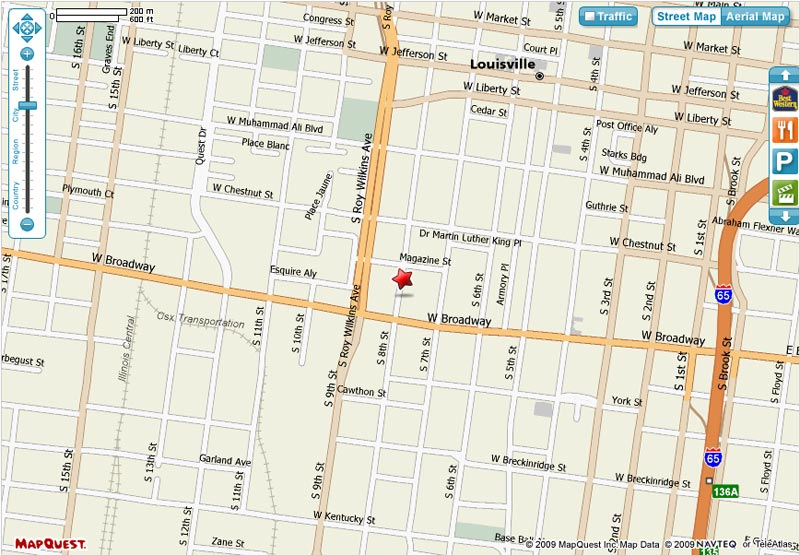 map of downtown louisville – bnhspine.com Downtown Louisville Hotels Map on